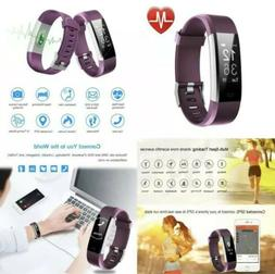 LETSCOM Fitness Tracker HR  Activity with Heart Rate Monitor