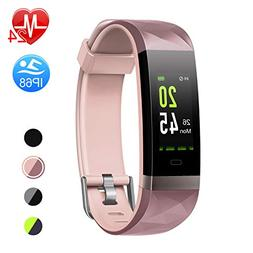 Letsfit Fitness Tracker HR, Color Screen Heart Rate Monitor
