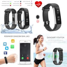 Fitness Tracker Slim Activity Watch W Heart Rate Monitor Wat