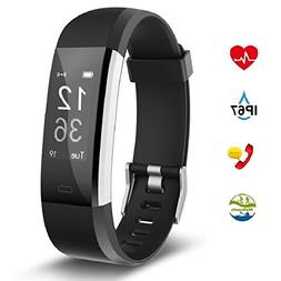 Fitness Tracker Aneken Smart Bracelet Tracker with Heart Rat