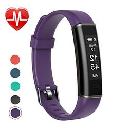 Letsfit Fitness Tracker with Heart Rate Monitor, Pedometer W