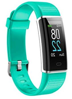 YAMAY Fitness Tracker w/ Heart Rate Monitor Fitness Activity