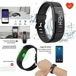 Fitness Tracker Watch Bluetooth Activity Monitor Smart Runni