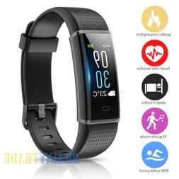 Smart Watch Heart Rate Monitor Color Screen Fitness Tracker