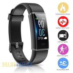 Fitness Tracker Watch Fitbit Activity Sleep Monitor Bluetoot