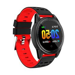Fitness Tracker Watch with Silicone Band for Kids Women Men
