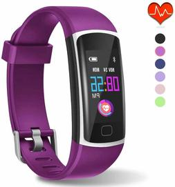 Fitness Tracker, Waterproof Activity Tracker with Heart Rate