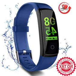 Fitness Tracker Waterproof Activity With Heart Rate Blood Pr