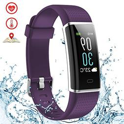 Fitness Tracker Color Screen Weather Waterproof Activity Tra