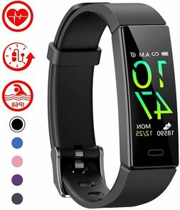 Mgaolo Fitness Tracker with Blood Pressure Heart Rate Sleep