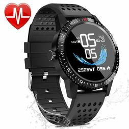 Fitness Tracker with Heart Rate Blood Pressure Monitor, Acti