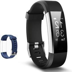 Lintelek Fitness Tracker with Heart Rate Monitor, Activity T