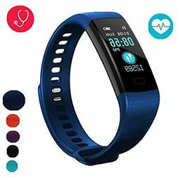 Fitness Trackers Tracker With Blood Pressure Monitor, Colorf