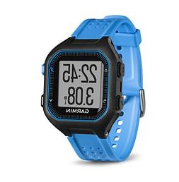Garmin Forerunner 25 GPS Running Watch Black/Blue Size Large
