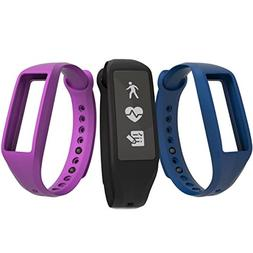 Striiv - Fusion Bio 2 Activity Tracker + Heart Rate - Black/