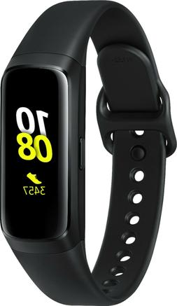 Samsung - Galaxy Fit Activity Tracker + Heart Rate - Black B