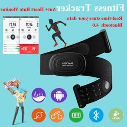 Heart Rate Monitor Chest Strap Bluetooth ANT Fitness Sensor