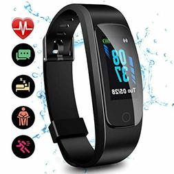 High-End Fitness Activity Tracker HR Health Exercise Watch w