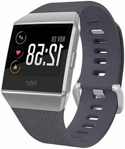 Fitbit IONIC Smartwatch Bluetooth GPS Activity Tracker Gray
