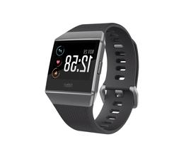 ionic smartwatch bluetooth gps activity tracker gray