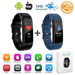 IP67 Bluetooth Smart Fitness Activity Trackers Watch Wrist B