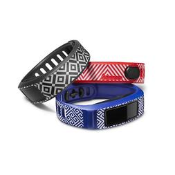 Garmin - Jonathan Adler Accessory Bands For Vívofit 2  - Bl