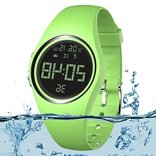 3d pedometer watch wristband ip68