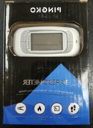 3d walking pedometer best activity fitness tracker