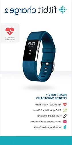 Fitbit Charge Heart Rate Blue, , 1 Count