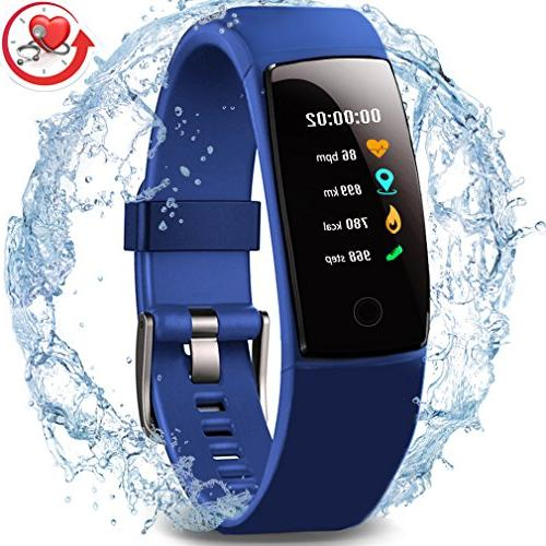 Waterproof Health Tracker,MorePro Fitness Tracker Color Scre