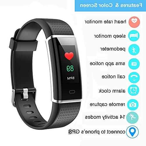YAMAY Fitness Heart Monitor, Fitness Watch Tracker Watch with Sleep 14 Sports Watch for Kids