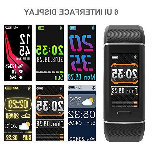 YOUNGDO GPS Color Activity Watch with Heart Monitor, Built-in Sport Step Counter, Calorie Counte