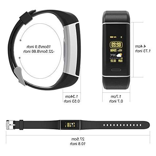 YOUNGDO Fitness Tracker, Watch with Heart Monitor, Built-in GPS,with Sport Modes, IPX67 Bluetooth Step