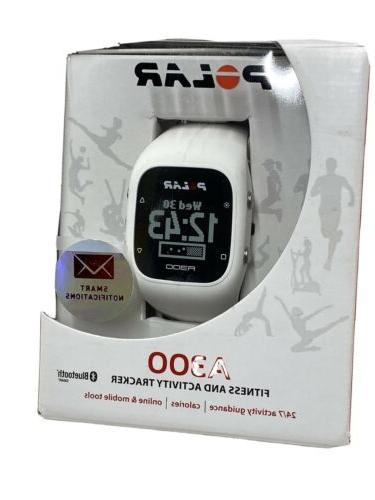 a300 fitness activity monitor white