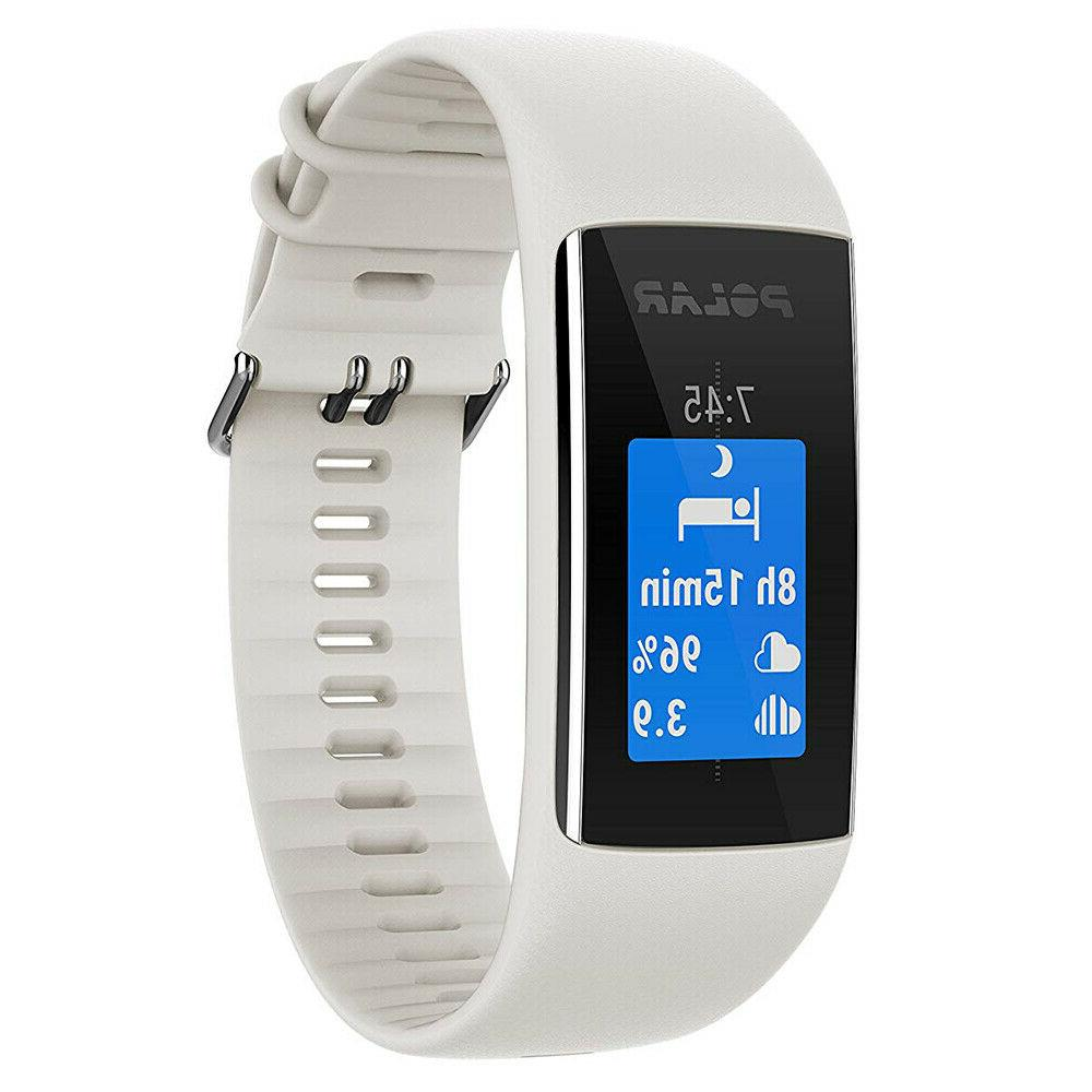 Polar A370 Fitness Tracker with Based HR White