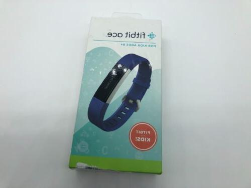 activity tracker for kids 8 electric blue