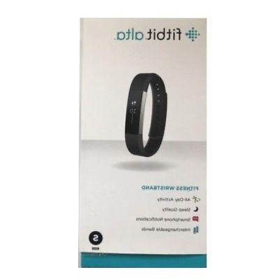 alta small black fitness wristband activity tracker