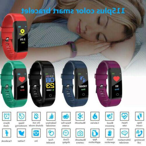 Android iOS Smart Watch Activity Kid Fitbit Heart Rate