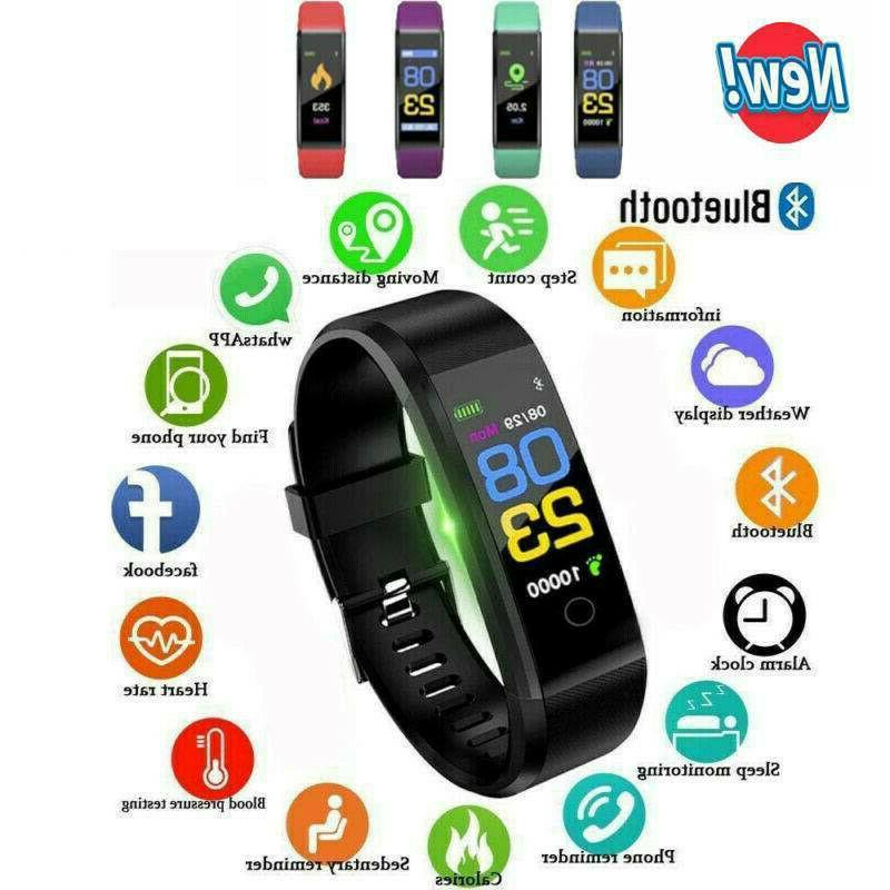 android ios fitness smart watch activity tracker