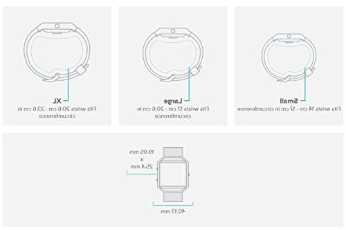 Fitbit Blaze Watch Silver Small