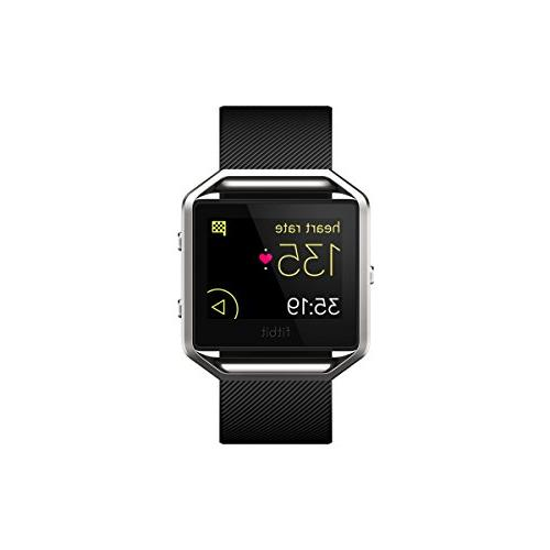 Fitbit Blaze Smart Fitness Watch Silver Small