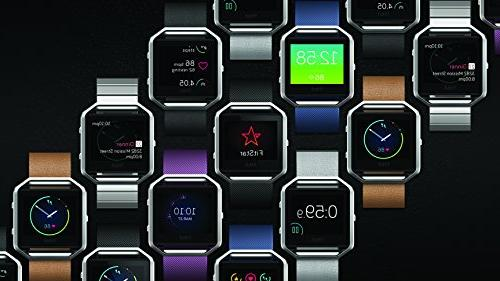 Fitbit Watch Black Silver Small
