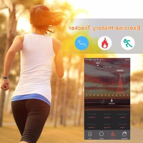 Bluetooth SMART FIT watch Rate