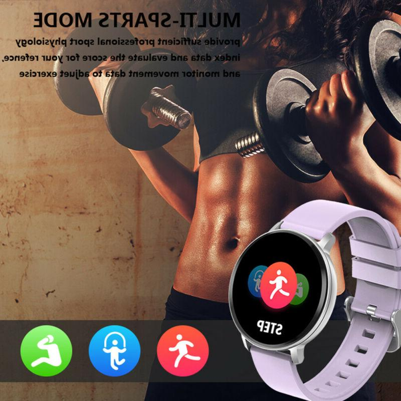 Bluetooth Smart Watch Heart Tracker Oxygen Blood Pressure Sport
