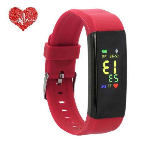 Waterproof Fitness Activity Smart With Rate Monitor