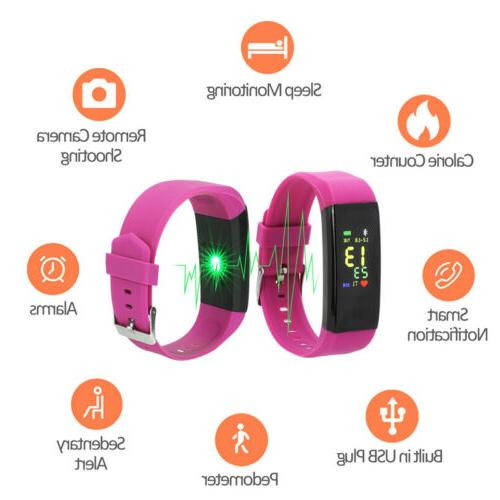 Waterproof Activity Smart With Heart Rate Sports