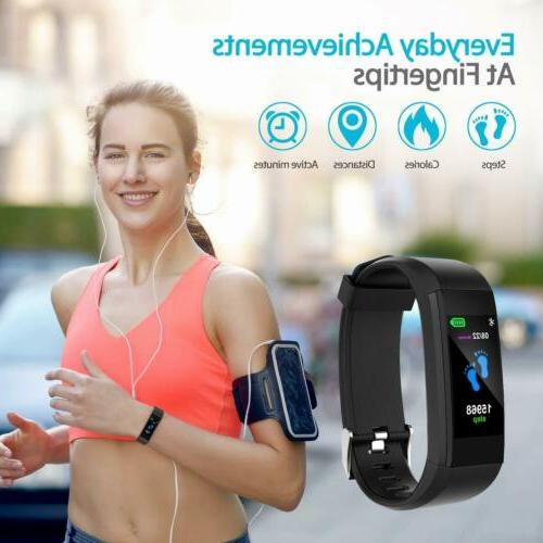 Brand New StyIe Sports Waterproof Fitness Tracker Smart Watch