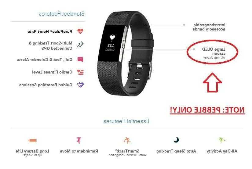 Fitbit Activity Tracker + Heart - Brand