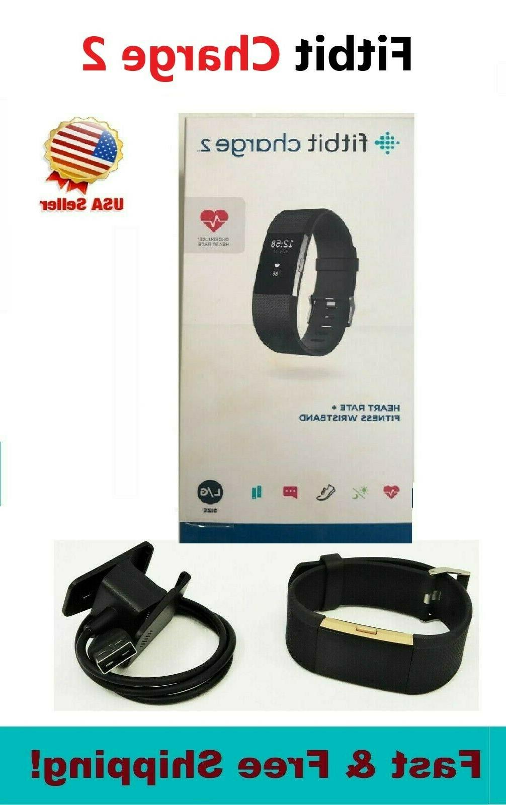 charge 2 black small large fitness watch