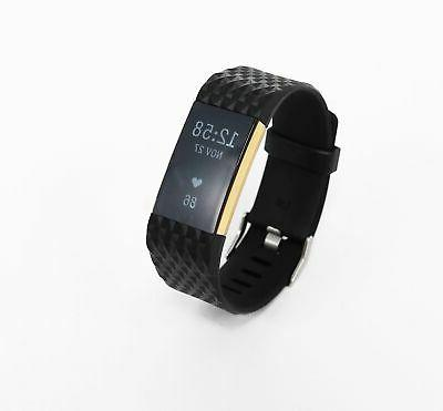 Fitbit Charge 2 Activity Tracker Diamond-Shaped A